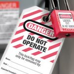 What is the Standard Lock Out Tag Out Procedure?